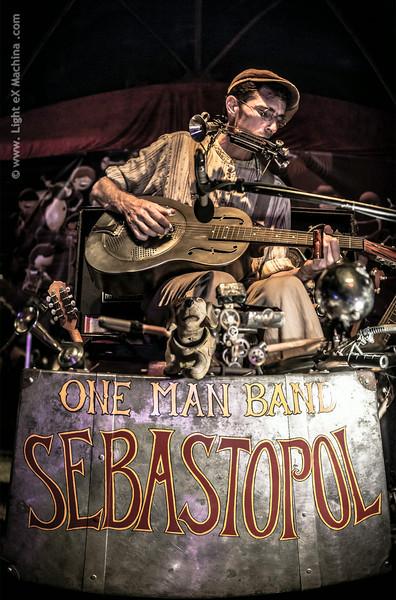 Sebastopol - One man band