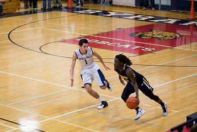 2.16.16 BHHS Varsity Basketball vs Panas