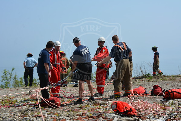 May 18, 2015 - Bluffs Rescue - Foot of Morningside Avenue