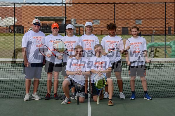 University HS Boys Tennis 02-14-2019