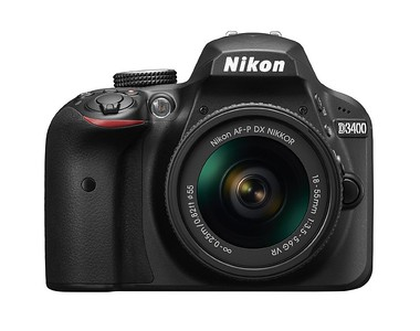 Types of Cameras to Consider - Nikon D3400