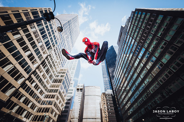TrevRayCosplay Spiderman Cosplay Photoshoot