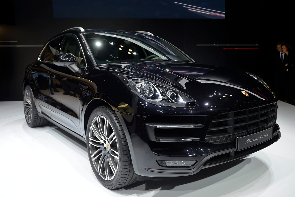 . The Porsche Macan Turbo is presented at the 43rd Tokyo Motor Show 2013 in Tokyo, Japan, 20 November 2013.  EPA/FRANCK ROBICHON