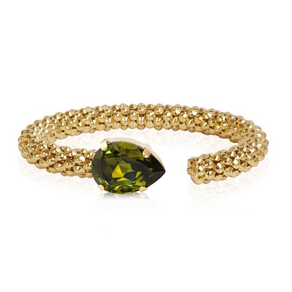 Classic Rope Bracelet / Olivine Gold
