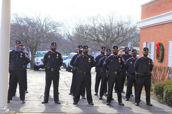 Ret. Lt. John Ross Funeral Services 2020