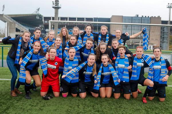 20191124 - Club Brugge Vrouwen - KAA Gent Ladies