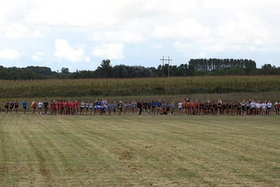 Charlevoix Mud Run - Junior and Senior Girls Start