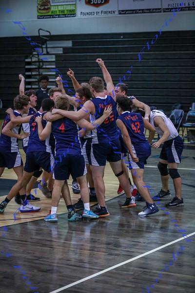 Varsity Boys Volleyball vs. Olympia HS - April 4, 2017 AWAY
