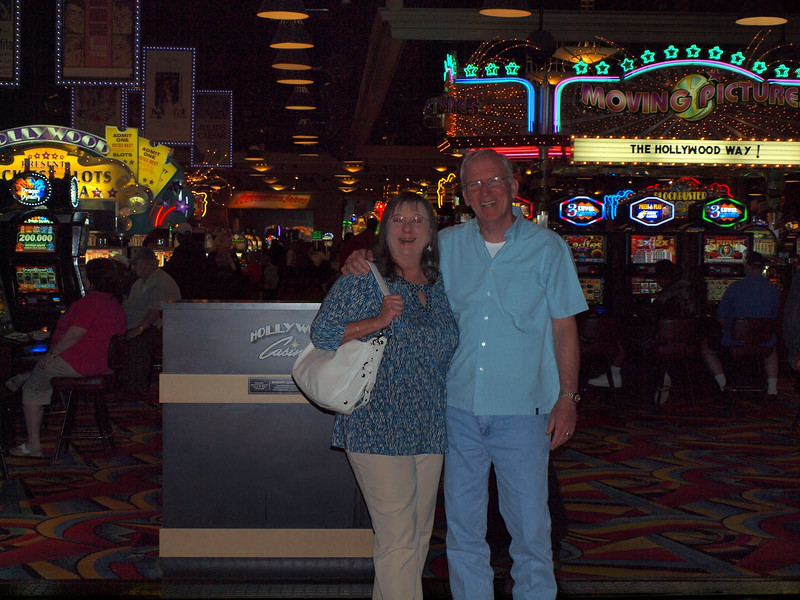 Having some fun in the casino