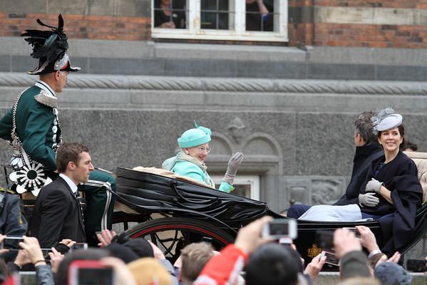 Dronningens 75 års fødselsdag
