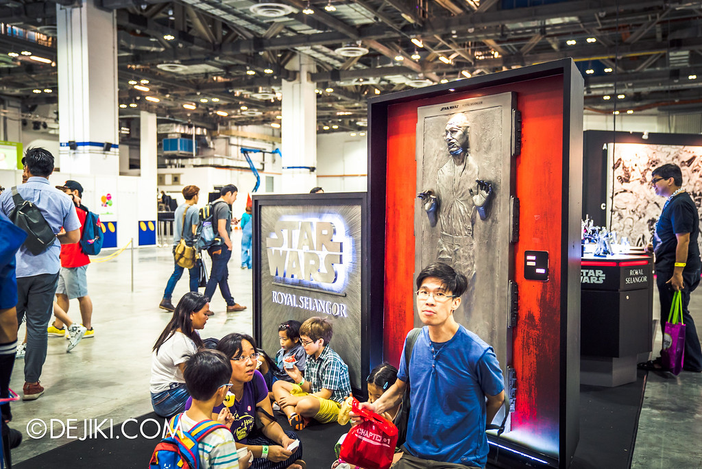 STGCC 2016 - The People of STGCC / Han Solo Carbonite Picnic