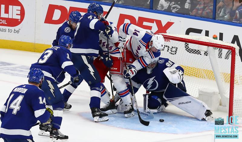 Tampa Bay Lightning vs New York Rangers