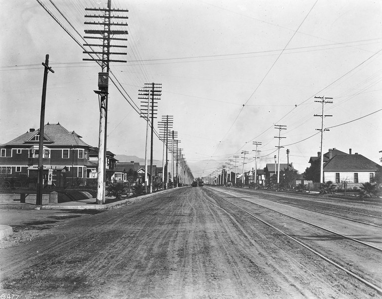 Pasadena Ave from Ave 51 in Highland Park