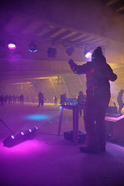 Patinoire et disco patins