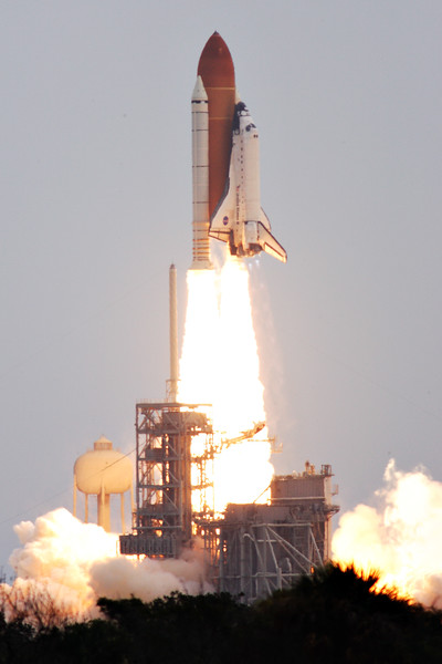 Atlantis lifts off for the final time.