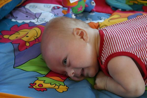 Aaron, Kaitlyn and Hannah - September 2006