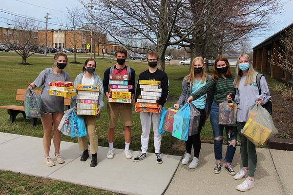 '21 Maple Kindergarten Cereal Box Domino Fun!