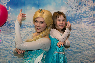 Hollen Turns Four with Elsa
