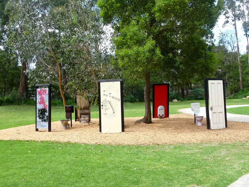 Healesville - Even in the wild you can find bad public art