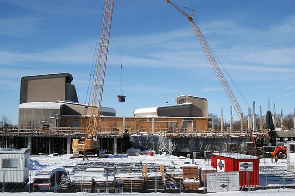Noel Fine Arts Center construction