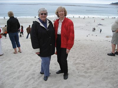 Carmel with Jan and Mary