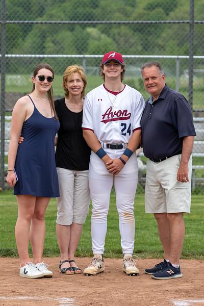 2021 Varsity Baseball Senior Celebration