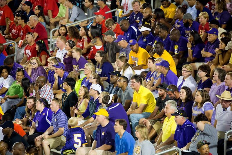A small group of Tennessee Tech faithful are not detered ...