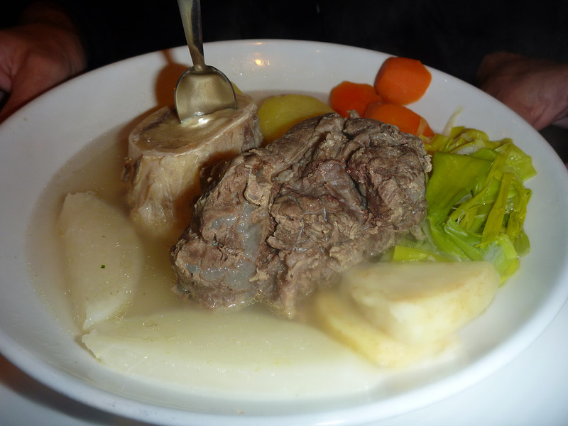 Dan's Pot-au-feu, the supposed origin of Vietnamese pho (kinda bland here but I can taste the similarity)
