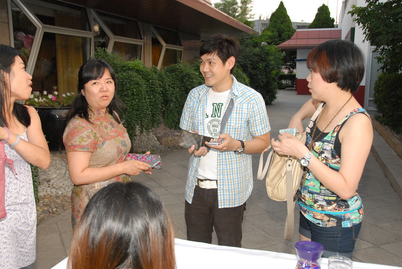 Jolene, Agnes and Kok Leng of CapitalMalls