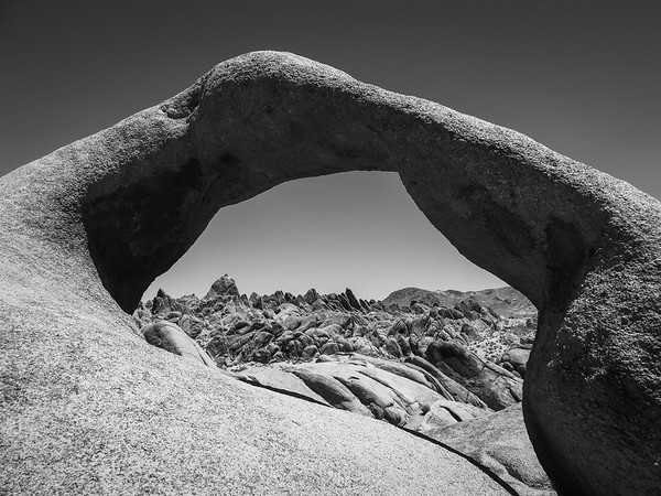 Alabama Hills, Mobius Arch and Mount Whitney