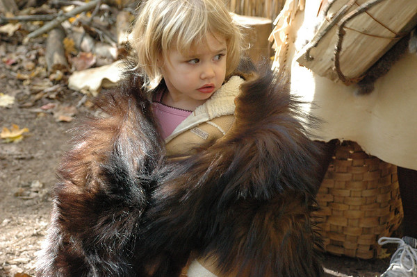 GA Day Care visits the Native American Village
