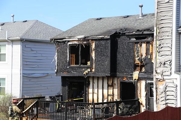 Bartlett Townhouse fire 8-22-2020