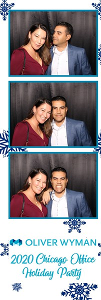 Oliver Wyman 2020 Chicago Office Holiday Party (01/12/20)