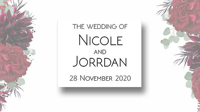 28.11 Jorrdan & Nicole's Wedding