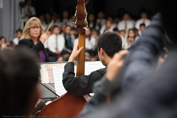 Piedmont Middle School Band Concerts