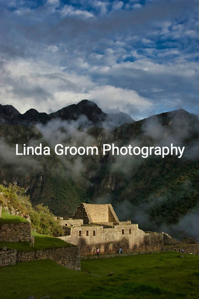 The Mists Lift over Machu Picchu