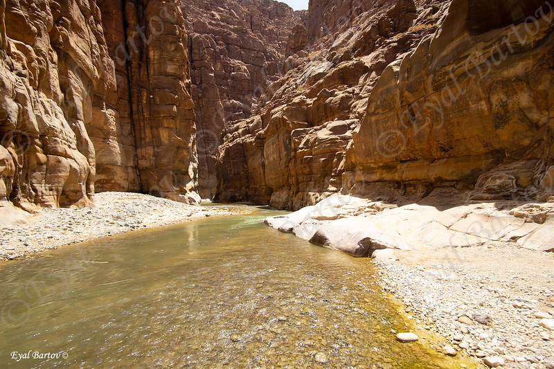 Jordan Wadi Mujib - נחל ארנון ירדן 3