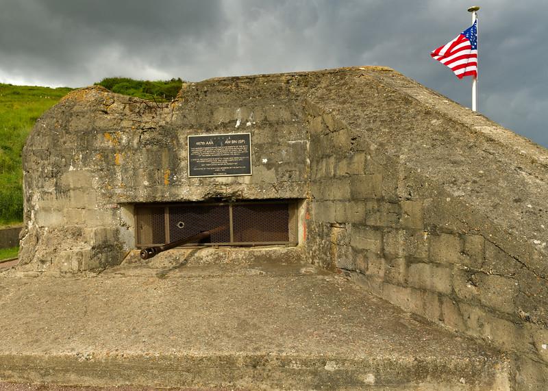 Gun Battery near Saint-Laurent-sur Mer overlooking Omaha Beach