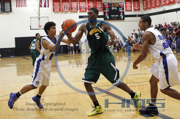Moanalua Boys Basketball - Ham 12-18-13