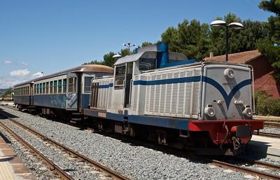 2011-07 Trenino Verde Arbatax to Mandas