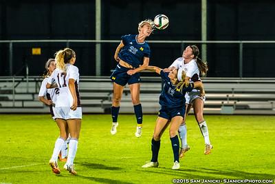 9-10-15 Michigan Women's Soccer Vs Central Michigan