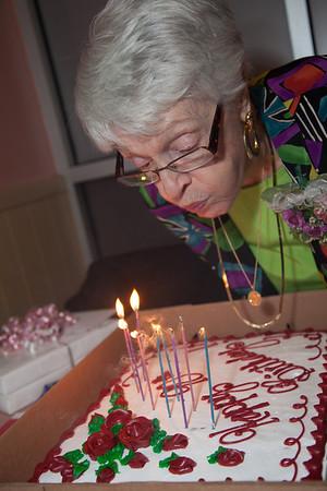 Aunt Barb's 90th Birthday 10-13-2012