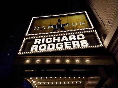 Hamilton Weekend NYC October 2016