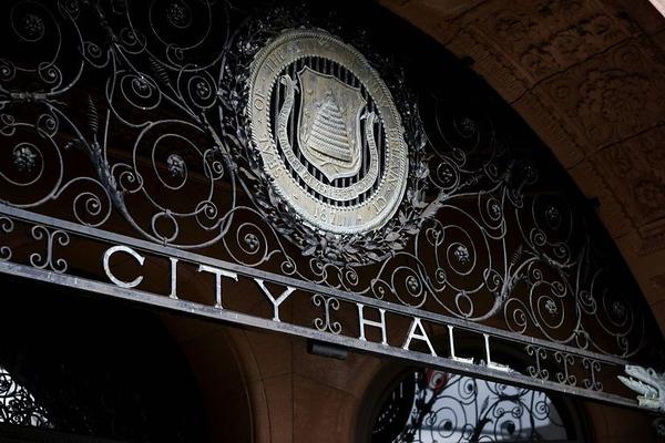 City Hall New Britain Sign