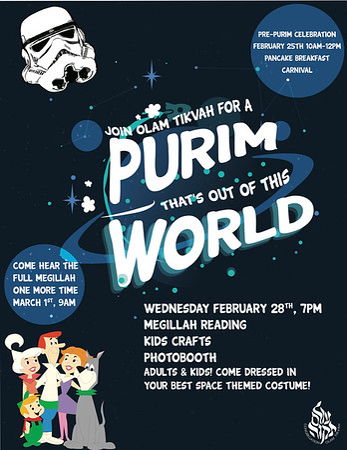 OT Celebrating Purim!