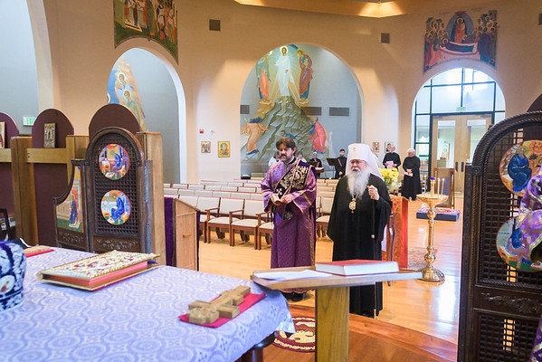 Vesperal Divine Liturgy at St. Matthew