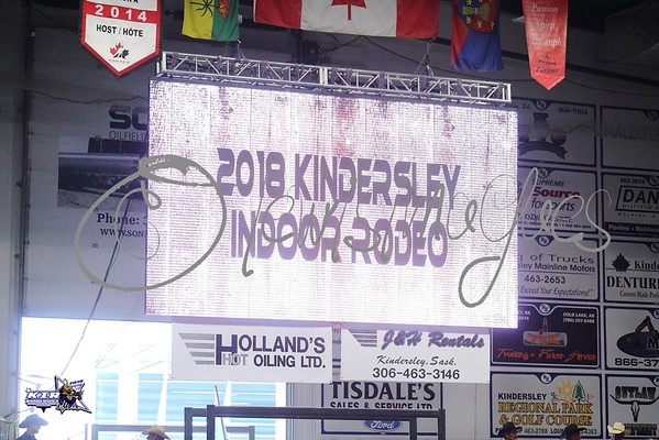 Kindersley Indoor Rodeo - Thursday 2018