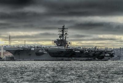 Navy Ships at Port
