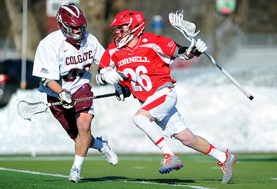 NCAA Lacrosse: Cornell at Colgate; 3/18/14