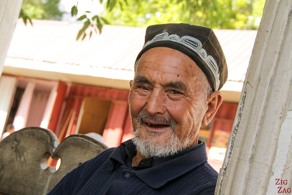 Portrait Kyrgyzstan: men in Arslanbob 2